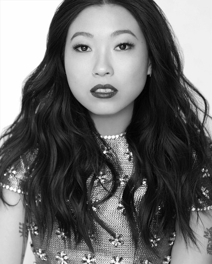 MARIE CLAIRE-AWKWAFINA