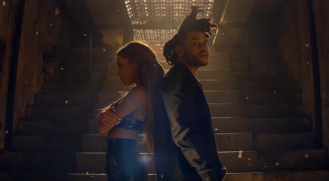 Ariana Grande+The Weekend -Love Me Harder Music Video
