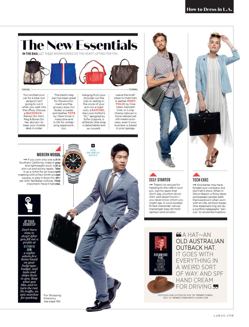 Los Angeles Mag How to Dress in LA by Pa
