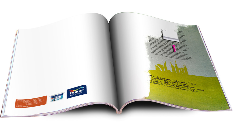 Dulux - Concentrated Paint  Trade Advertising
