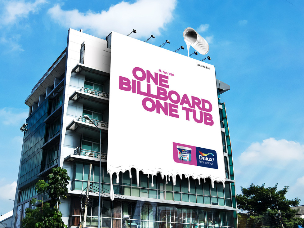 Dulux - Concentrated Paint - Billboard Advertising