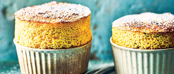 Mango & Passion Fruit Souffles