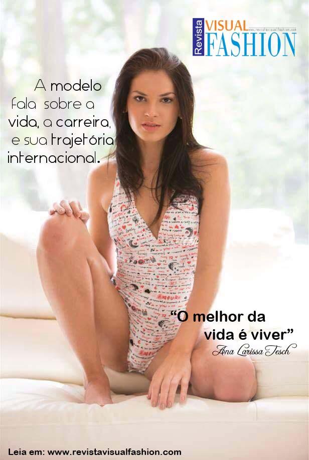 ana Larissa Tesch    assessoria Flavio de Holanda  Visual Fashion Brasil