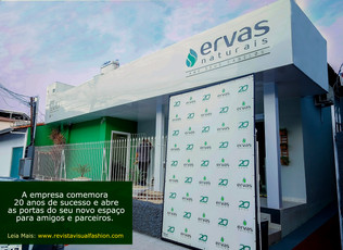 Ervas Naturais, inaugura Centro Técnico em Vila Velha
