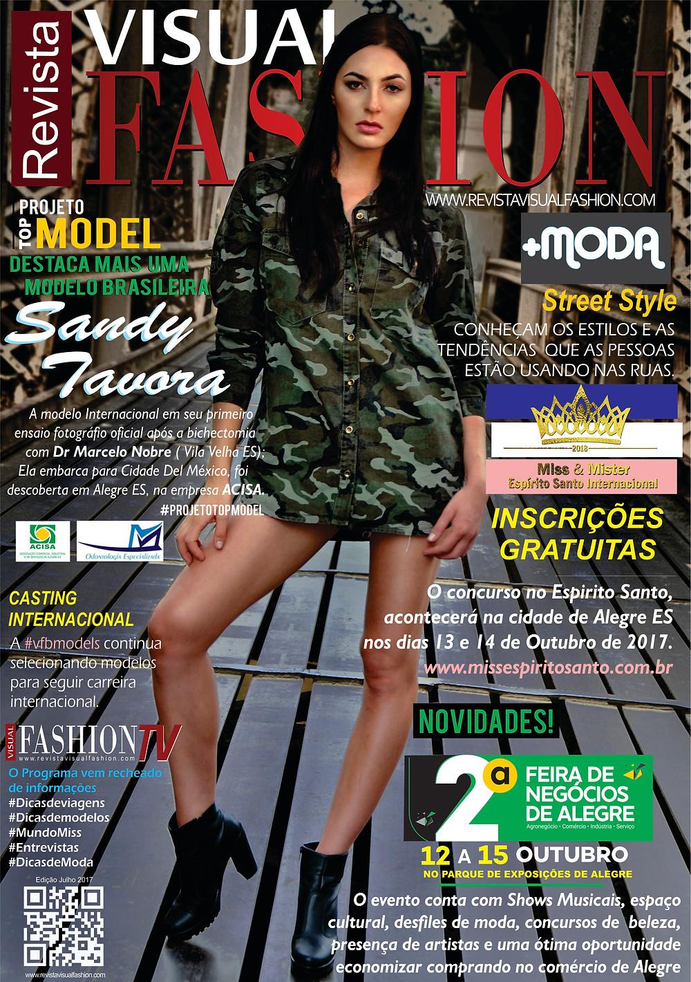 Sandy Távora | Revista Visual Fashion