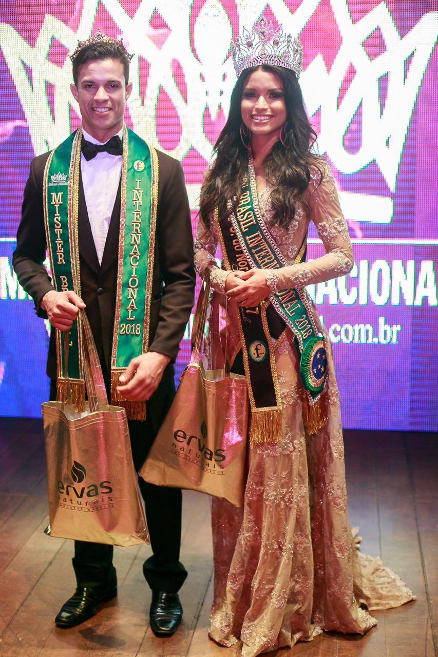 Vagner Passos Vanessa Fernandes Ervas Naturais Miss Brasil Internacional  Mister Brasil Internacional