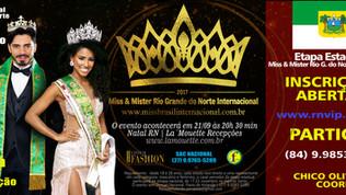 Rio Grande do Norte, abre inscrições para Miss & Mister Brasil Internacional