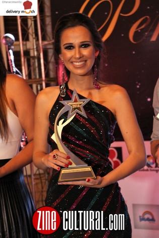 Miss Minas Gerais Internacional 2018, recebe Prêmio Personalidades