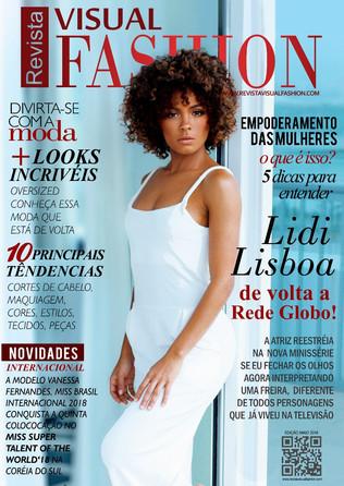 A CAPA :Lidi Lisboa de volta a Rede Globo