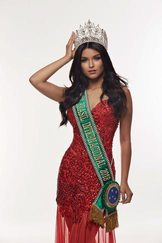 Vanessa Fernandes, representa Brasil noMiss Super Talent of the World2018