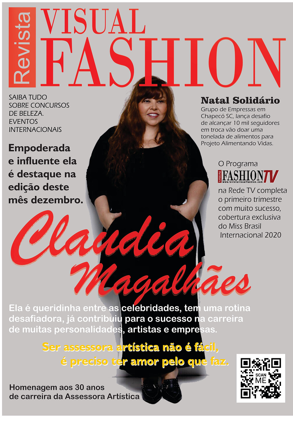 Claudia Magalhães Revista Visual Fashion