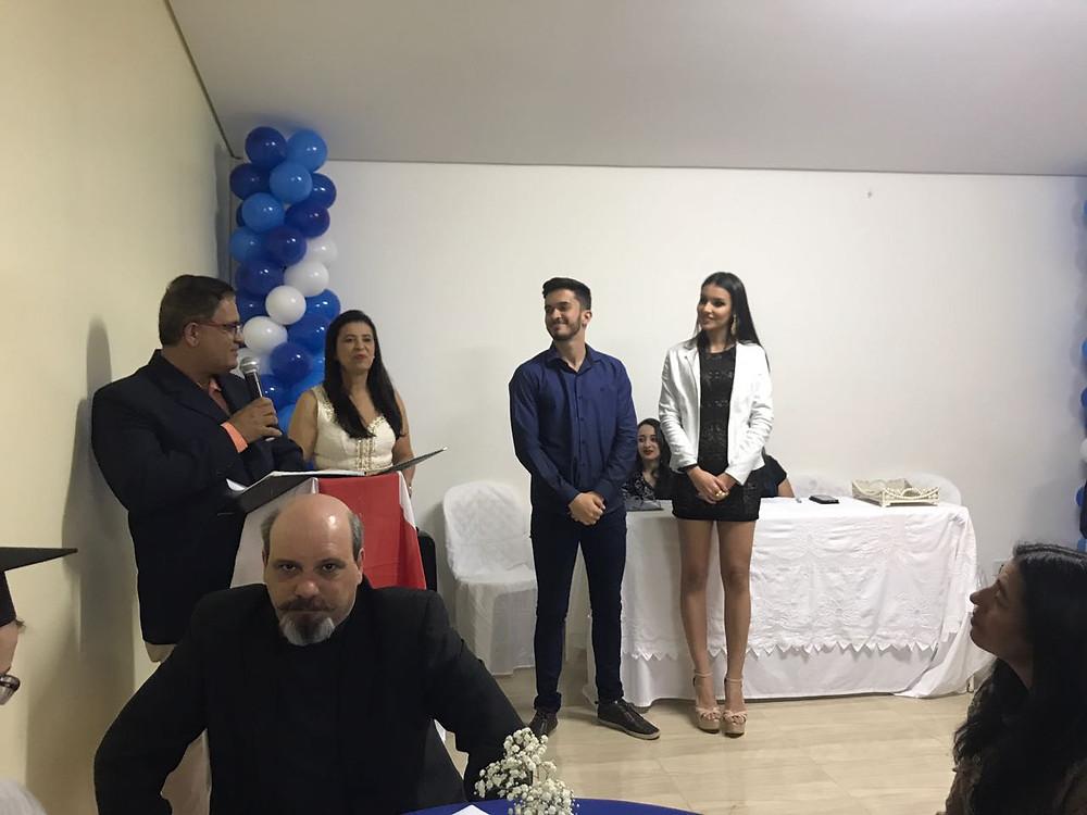 homenagem ccaa a Maryna Lima ( miss teen brasil ) e Vitor Faria (mister teen Brasil )