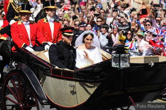 O casal Harrye Meghanrecebem o títulode Duque e Duquesa de sussex