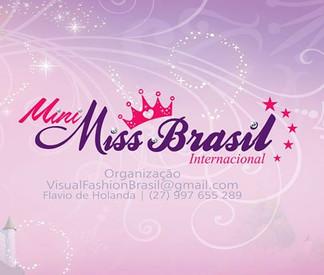 Concurso de Beleza Infantil promove intercambio cultural no Brasil.