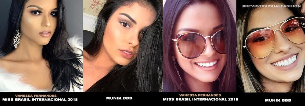 Vanessa Fernandes comparada com a Musa do BBB Munik Nunes