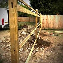 garden fencing surrey