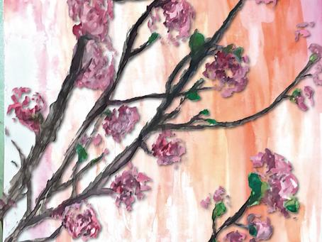 桜ひらひら~♪