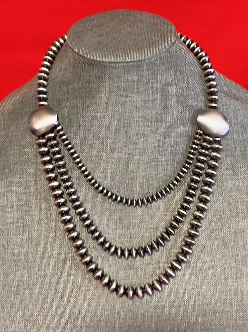 Ruby Haley Old Faashioned Button Necklace
