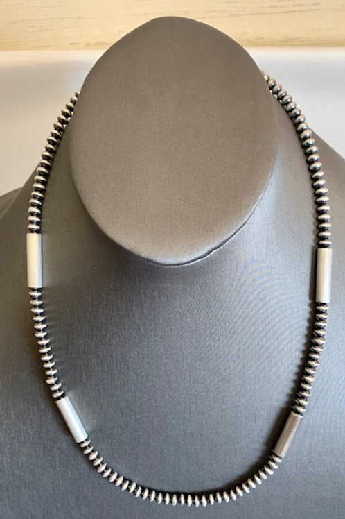 "Veltenia 23"" Old Fashioned Tube Necklace"