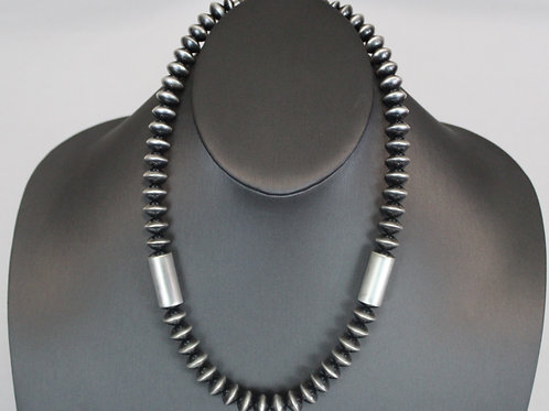 """Veltenia Haley 22"""" Necklace with Tubes"""