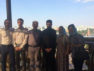 Сопровождение сирийской делегации в Москве