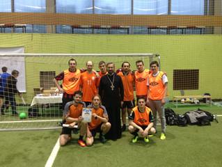 Команда Братства приняла участие в Пасхальном турнире по футболу