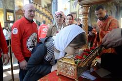 Десница святого Георгия в Москве