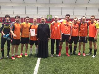 Футбольная команда Братства приняла участие в Пасхальном турнире по футболу