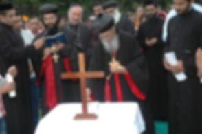 Laying of foundation stone on 27th Febru