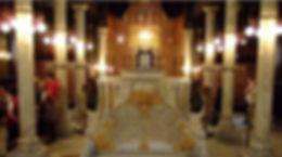 barrio copto iglesia suspendida