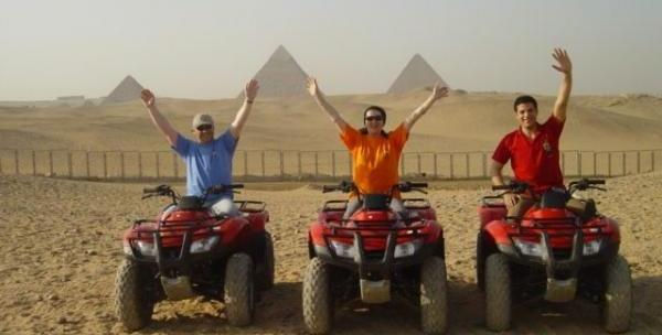 Quad runner Safari Trips at Giza Pyramids