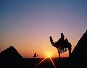 Sunset pyramids tour Camel Ride