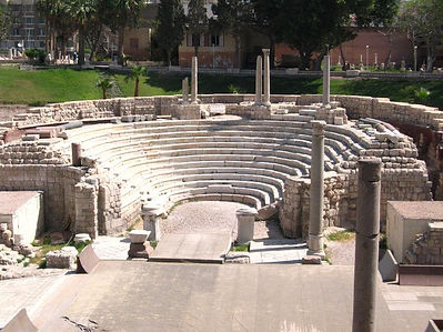 Roman Theater Alexandria Day Tour Egypt Trip