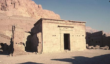 Deir El Medina Temple Luxor West Bank Guided Tour Egypt