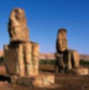 Colossi Of Memnon Luxor Guided Tour Egypt Nile Cruise