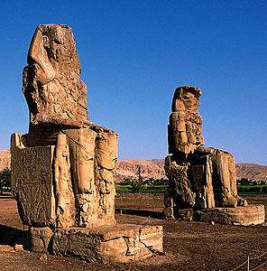 Colossi Of Memnon Luxor Guided Tour Egypt Nile Cruise
