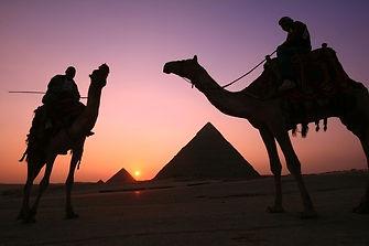 Sunset pyramids  tour