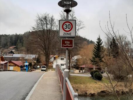 Zone 30 in Traidendorf ist endlich umgesetzt