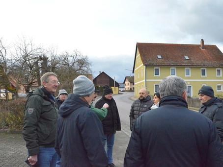 Zweite Ortsgespräche in Dallackenried und Dinau