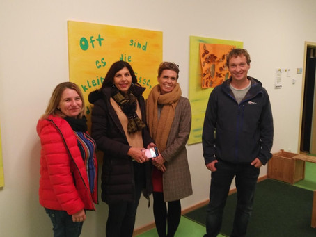 SPD und engagierte Bürger besuchen Kinderhaus Teublitz