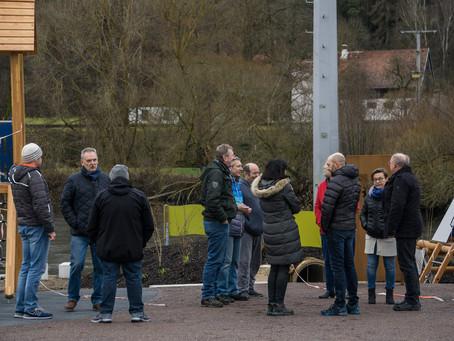 Auftakt zu den Ortsgesprächen – viele interessante Gespräche in Krachenhausen und Mühlschlag