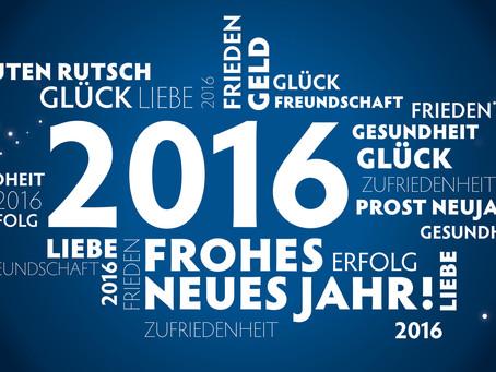 Ein Wort zum Jahreswechsel!