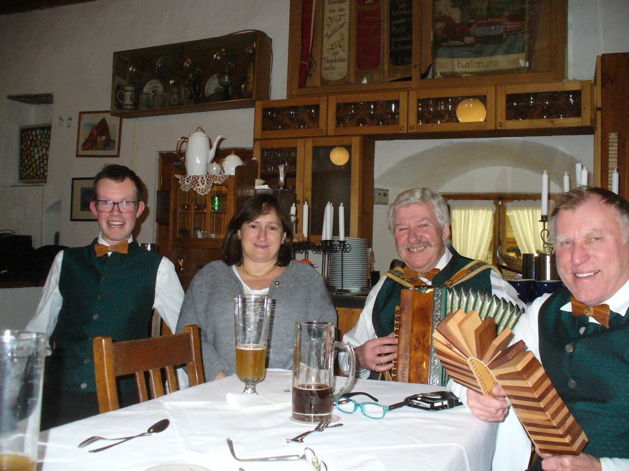 Die drei Kaputt´n mit Marianne Schieder, MdB