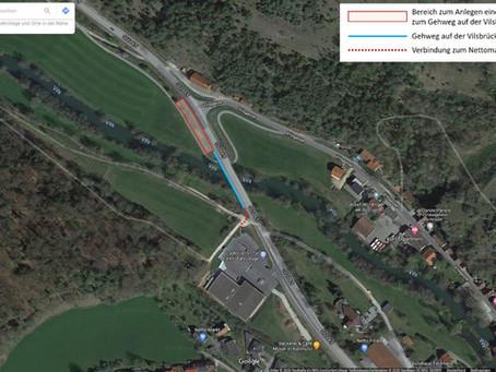 Verbindung Radweg Traidendorf zur Vilsbrücke gefordert