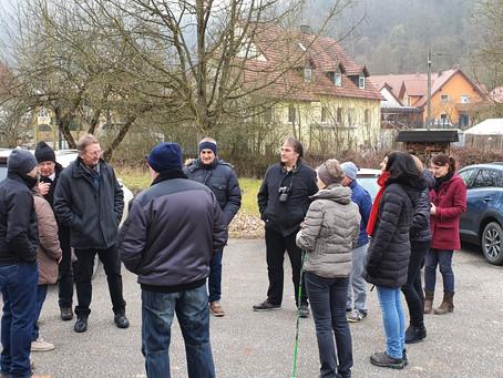 Spannende Ortsgespräche in Traidendorf, Rohrbach und Eich
