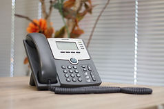 telephone-communication-by-phone-office-