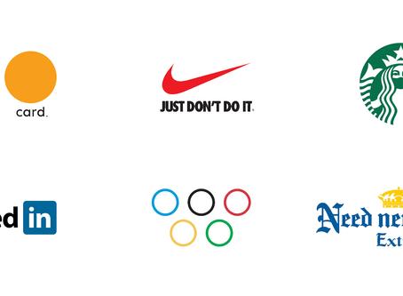 Logo para Mastercard, Linkedin e Nike na era do coronavírus