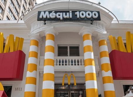 "Méqui1000 recebe fachada ""instagramável"""