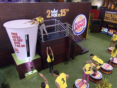 Burger King se ausenta do Instagram durante estreia do BBB20