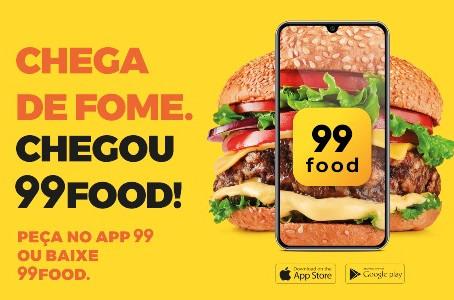 App 99 agora também é 99FOOD